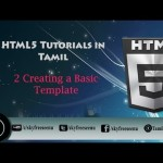 creating html template in tamil