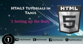 html 5 creating body